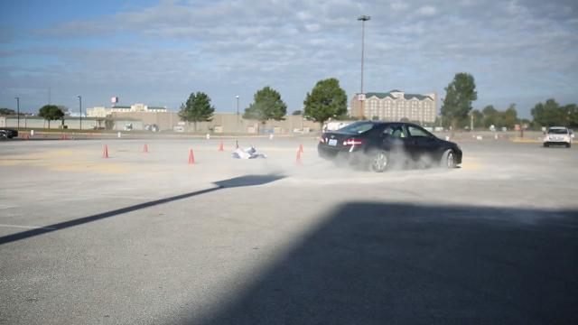 """The Tire Rack Street Survival Program gives teens """"real world driving exercises"""" to better prepare them for the road."""