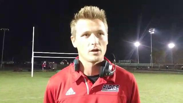 PRP football coach Tommy Williams talks about his team's Friday win over Manual, including a key goal line stand in the final seconds. Oct. 13, 2017