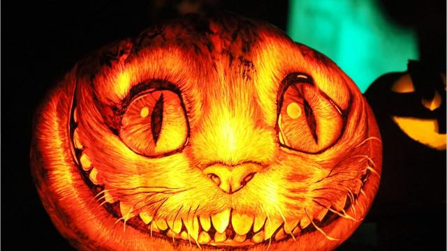 More than 5,000 carved pumpkins illuminate Iroquois Park from Oct. 12-Nov. 5 during Jack-O-Lantern Spectacular.