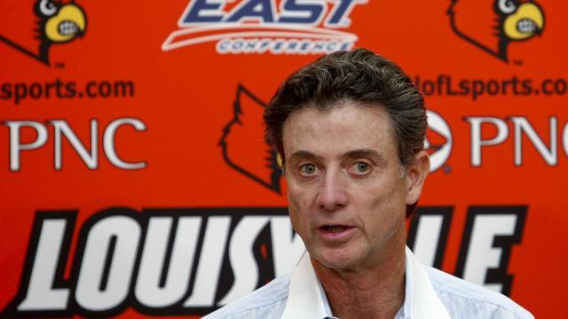 Highs and lows of Rick Pitino's tenure as University of Louisville men's basketball coach.