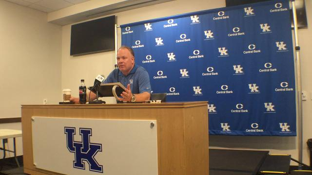 Mark Stoops previews Mississippi State
