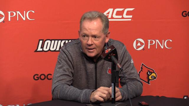 Petrino says he needs a little more commitment from from Averitt.  Petrino says that he's very talented and likes many of the things he's doing but still needs a little polish.