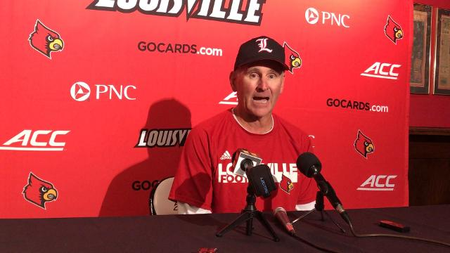 The offensive line coach says the Cards have responded well to adversity.