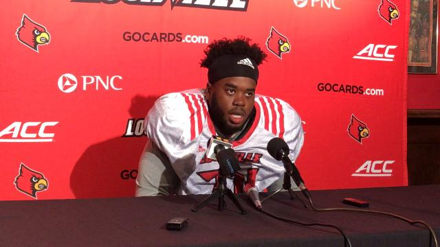 The offensive tackle said he likes the Cards' preparation after a loss last week.