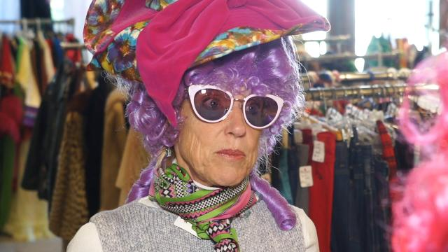 CJ's Kirby Adams digs up some Halloween costumes from the vintage Nitty Gritty store.