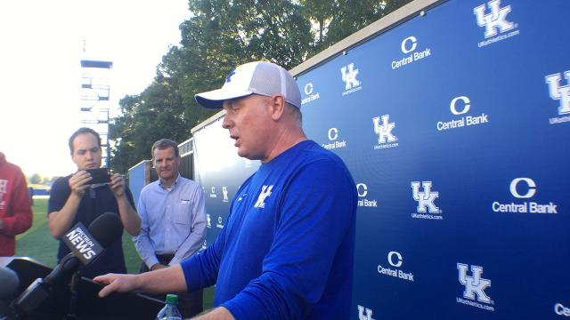 Mark Stoops impressed by Jordan Jones' return to practice