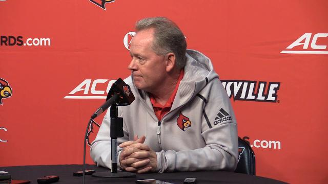 Bobby Petrino's weekly press conference