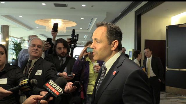 Gov. Bevin on pension reform