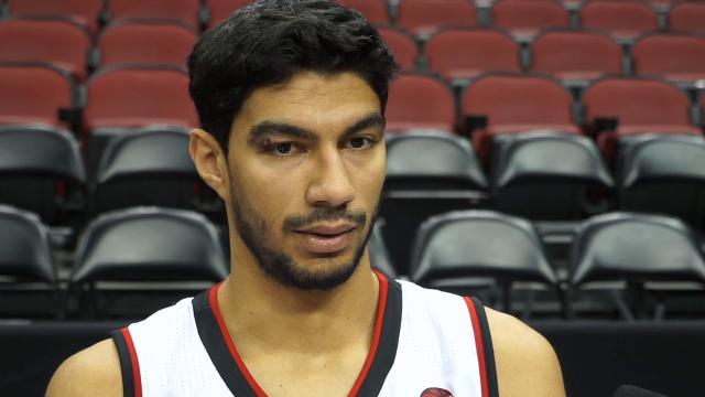 Louisville center Anas Mahmoud's Media Day comments