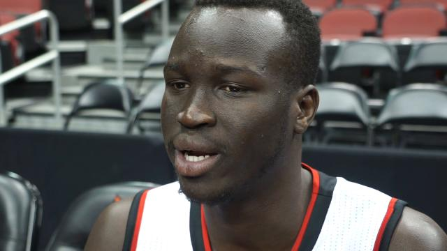 Louisville forward Deng Adel's Media Day comments