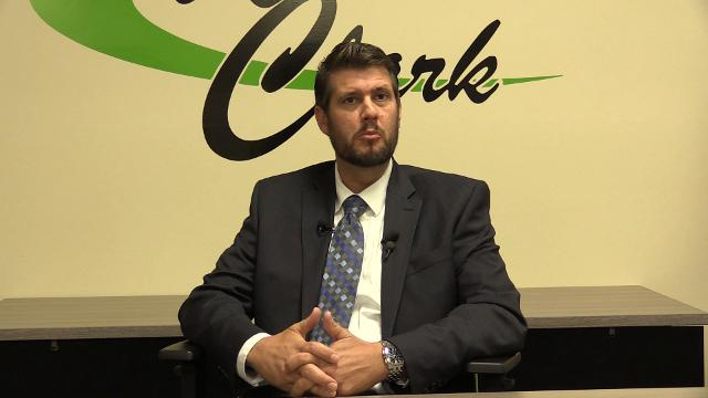 Chad Schenck was disappointed in the results that would have pumped $95 million into West Clark Schools.