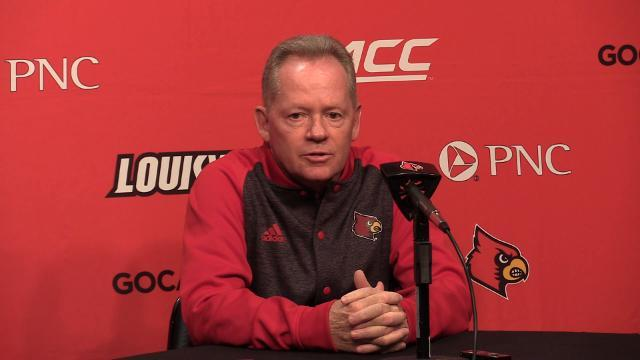 Bobby Petrino on the win over Virginia and the upcoming Syracuse matchup