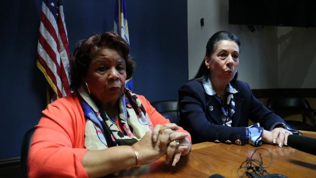 Council Democrats Barbara Shanklin and Barbara Sexton Smith say they have received support about the processing of removing Dan Johnson from Metro Council.