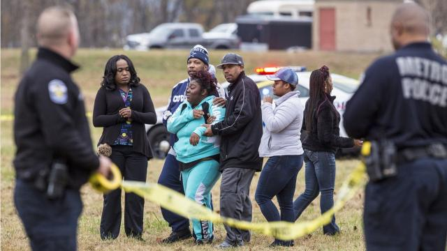 On Thanksgiving Day 2016, seven men were shot and two men died at the annual Juice Bowl in Shawnee Park. A year later, the case remains open. Here's a look at what happened.