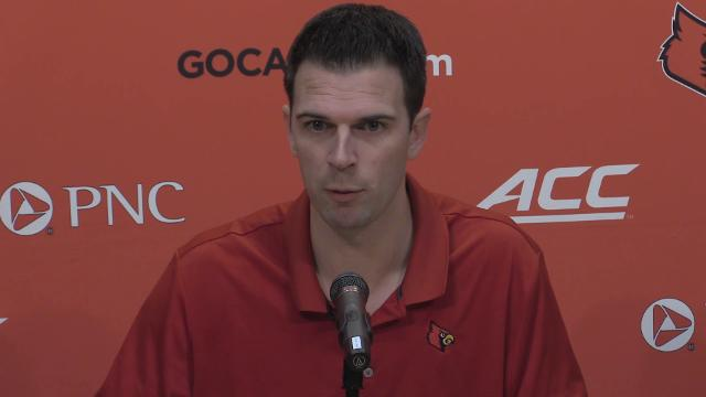 'We're very anxious' to start playing, says Louisville interim head coach David Padgett.