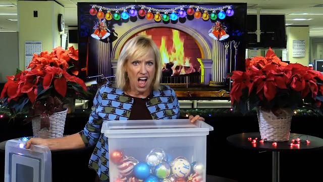 Kirby Adams shows you how to sort and store your holiday ornaments.