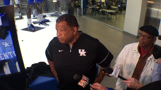 UK recruiting coordinator Vince Marrow previews early signing period