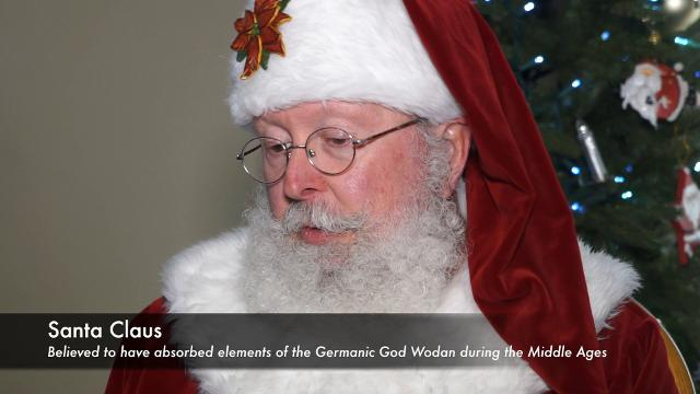 Courier Journal goes one-on-one with Kris Kringle to discuss his use of coal in stockings.