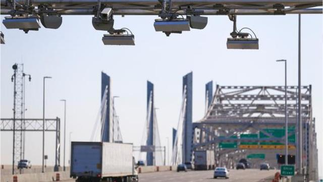 A look at the numbers involved in the year since tolling began on several bridges in Louisville.