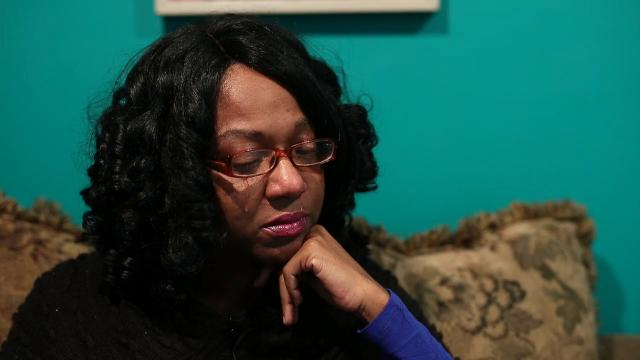 Tiffanie Thomas Harris' son was murdered in February and the case is still unsolved. Every time there's a shooting in Louisville, she does a 'roll call' to make sure her children are OK.