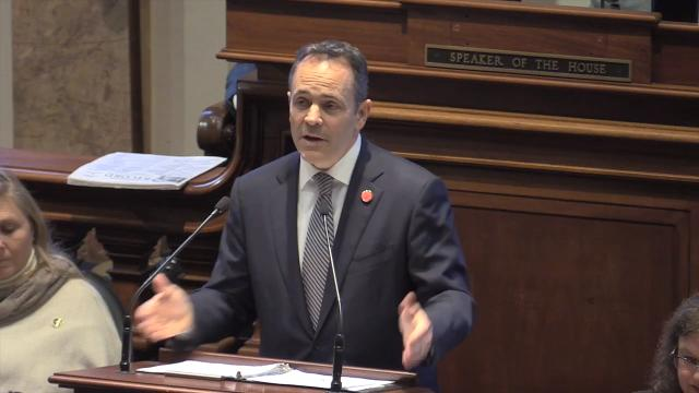 Gov. Matt Bevin promises to fully fund Kentucky's pension systems