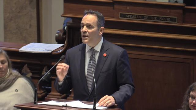 Gov. Matt Bevin pledges to preserve funding for Kentucky students