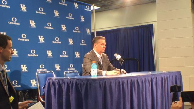 John Calipari sends message to Marshall County