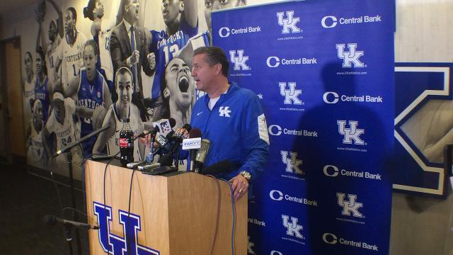 UK coach John Calipari previews Texas A&M, talks teams recent shooting woes