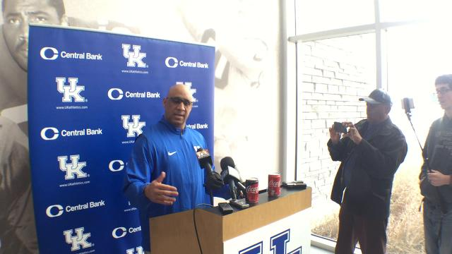 New UK WRs coach Michael Smith wants to be known as more than just a recruiter