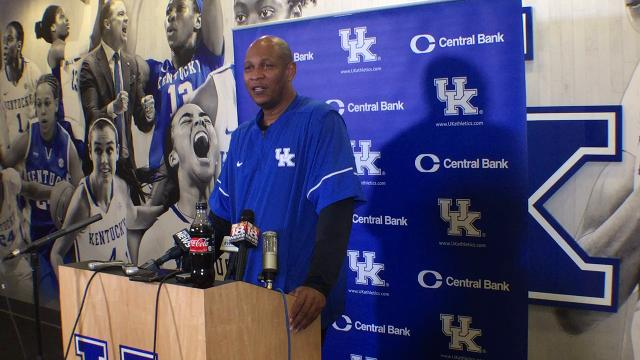 UK assistant Kenny Payne previews Auburn game