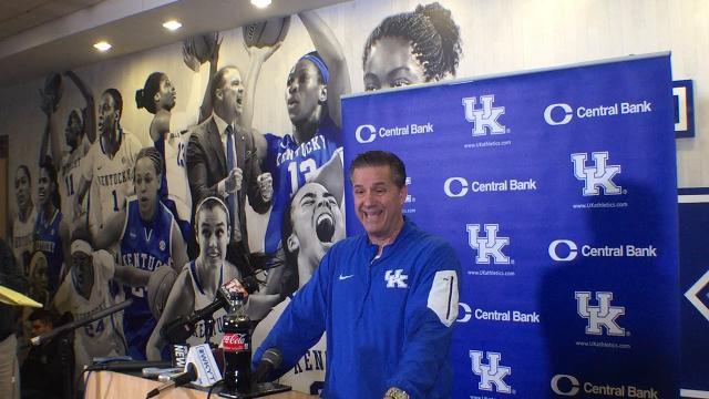 UK coach John Calipari previews Alabama