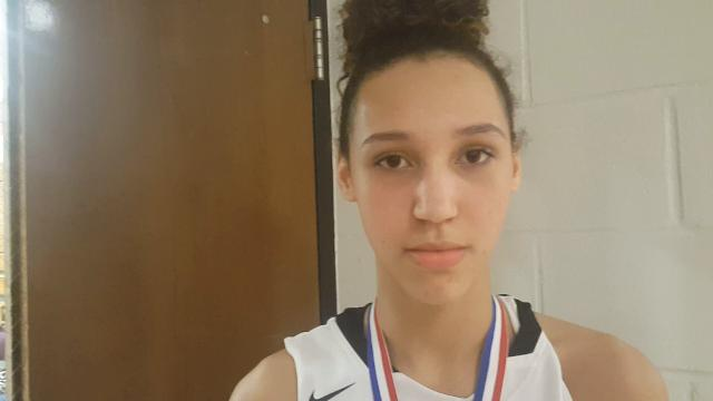 Mercy sophomore Taziah Jenks scored a game-high 28 points in the 24th District girls basketball tournament final Thursday night at Fern Creek.