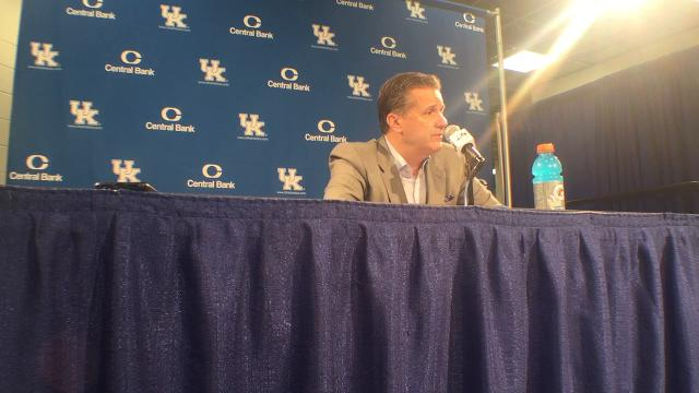Kentucky basketball  Kevin Knox said he  slept well  despite questions  about eligibility ddfcd5b69