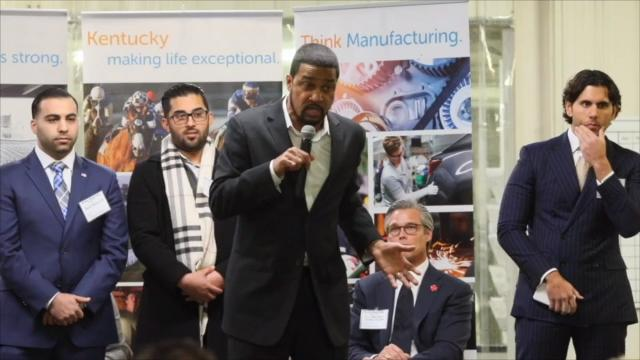 The National Diversity Coalition for Trump CEO, the Rev. Darrell Scott, talked urban revitalization and ruffled some feathers in Louisville. Kentucky Gov. Matt Bevin also spoke.