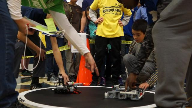 The RoboRumble Regional Robotic Tournament brought out plenty of competitors to Moore High School this weekend. March 10, 2018