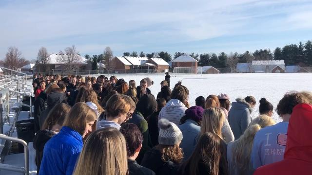 Raw: North Oldham student Zoe Kuhn's video of National School Walkout Day