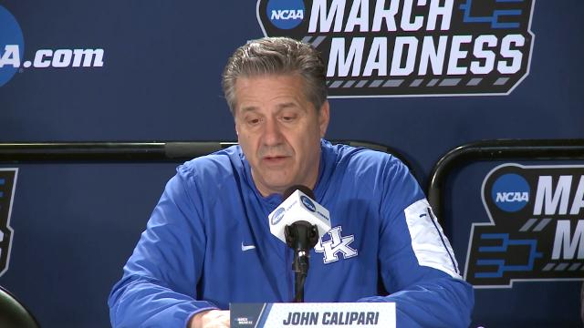 Kentucky's John Calipari talks about Tom Crean as Georgia's new coach