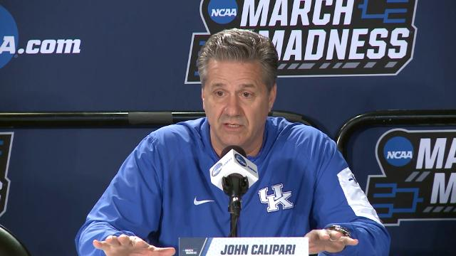 John Calipari: 'In Kentucky we have four million coaches'