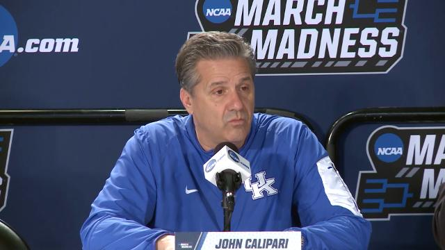 Kentucky's John Calipari on Buffalo: 'If I was on their team I'd feel very confident, too'