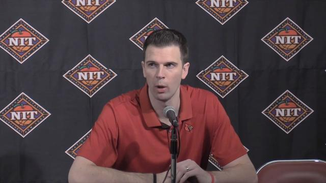 U of L coach David Padgett is joined by Ryan McMahon as they talk about their wino over MTSU in the NIT.