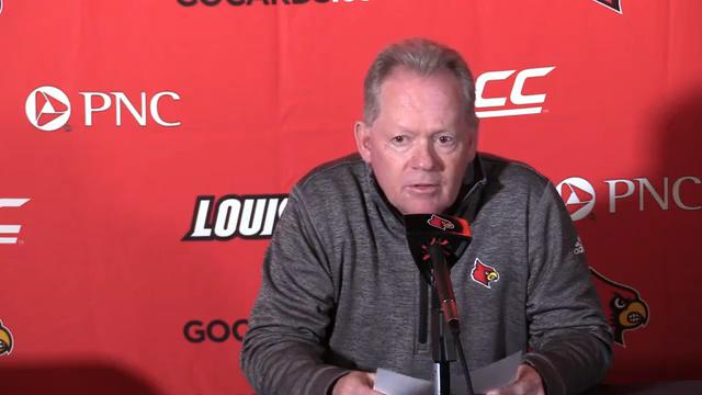 Petrino talked to reporters about what he's looking forward to in the coming football season from both the new and returning players.