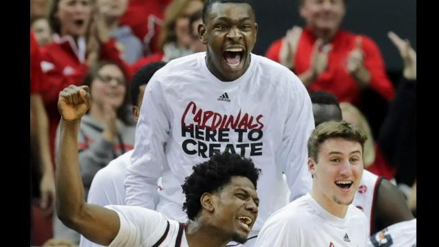 Louisville team and crowd feeling the energy as Cards move on in NIT