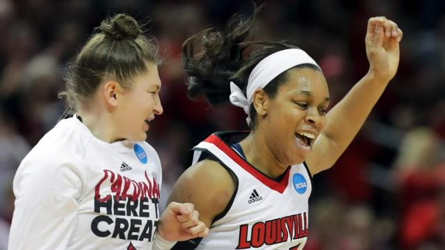 Double Coverage hosts Danielle Lerner and Jeff Greer look at Louisville women's basketball team as it moves to NCAA Tournament regional play in Lexington's Rupp Arena.