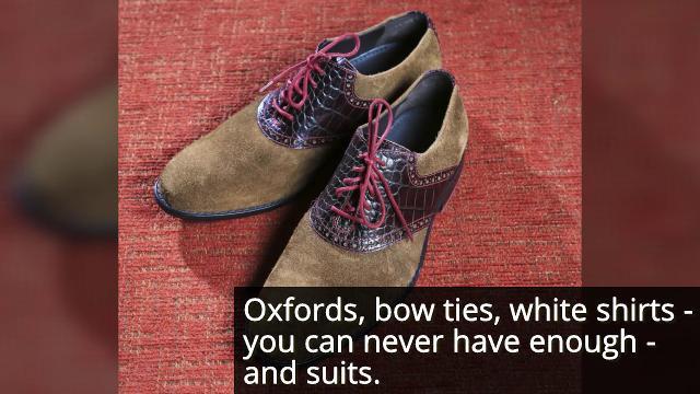 This dapper bow tie designer rocks his 'Best' look
