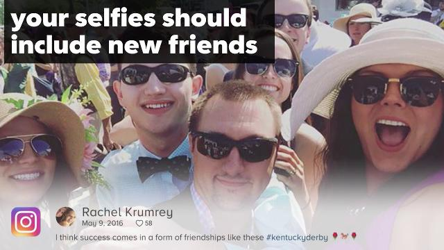5 selfies you need to take Derby day