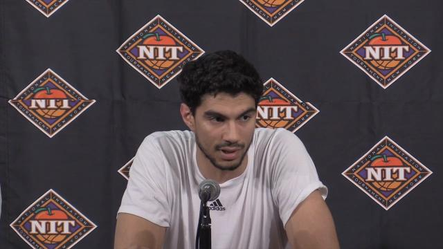 Louisville's Anas Mahmoud on playing his last game as a Cardinal