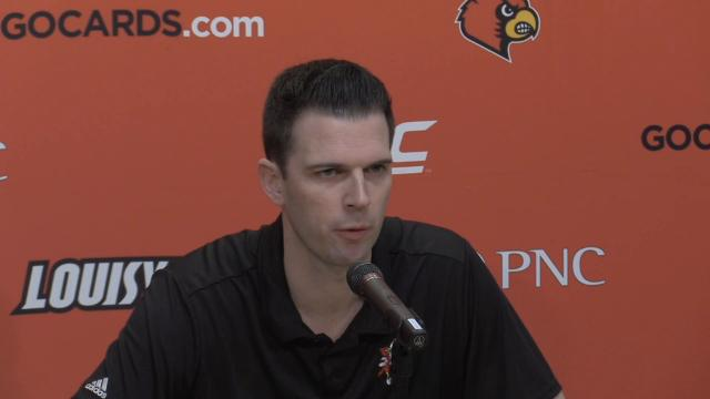 """Padgett said he had heard rumors he wouldn't be named permanent head coach, so he wasn't surprised. He said the team was """"14 players that I'll have a special place in my heart for."""""""