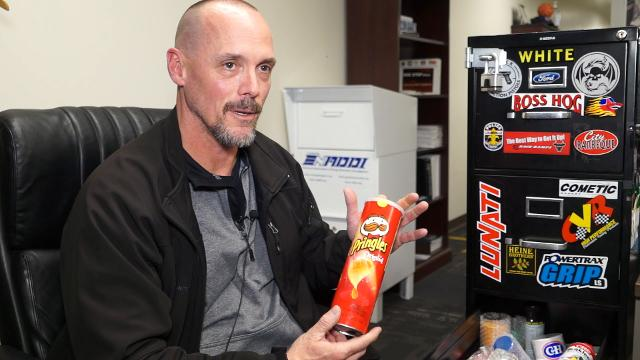 A Pringles can, ChapStick tube, hairbrush handle and the Bible. These are some of the places Louisville area drug users have hidden their stashes. Paul Neal, a narcotics officer with Louisville Metro Police, breaks down where kids stash their drugs.