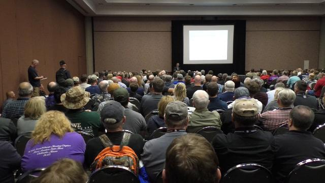 Tim Schmidt, founder of the United States Concealed Carry Association, talks about the history and expectations of the event, which was back in Louisville this weekend. April 15, 2018