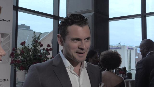 Actor and musician Adan Canto, of Designated Survivor fame, arrives at the Trifecta Gala ahead of the 2018 Kentucky Derby.